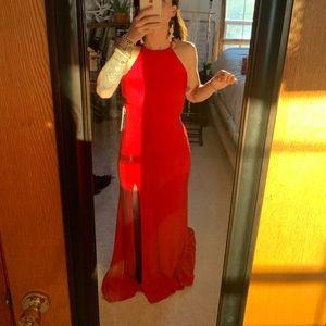 Sherri Hill Backless Dress